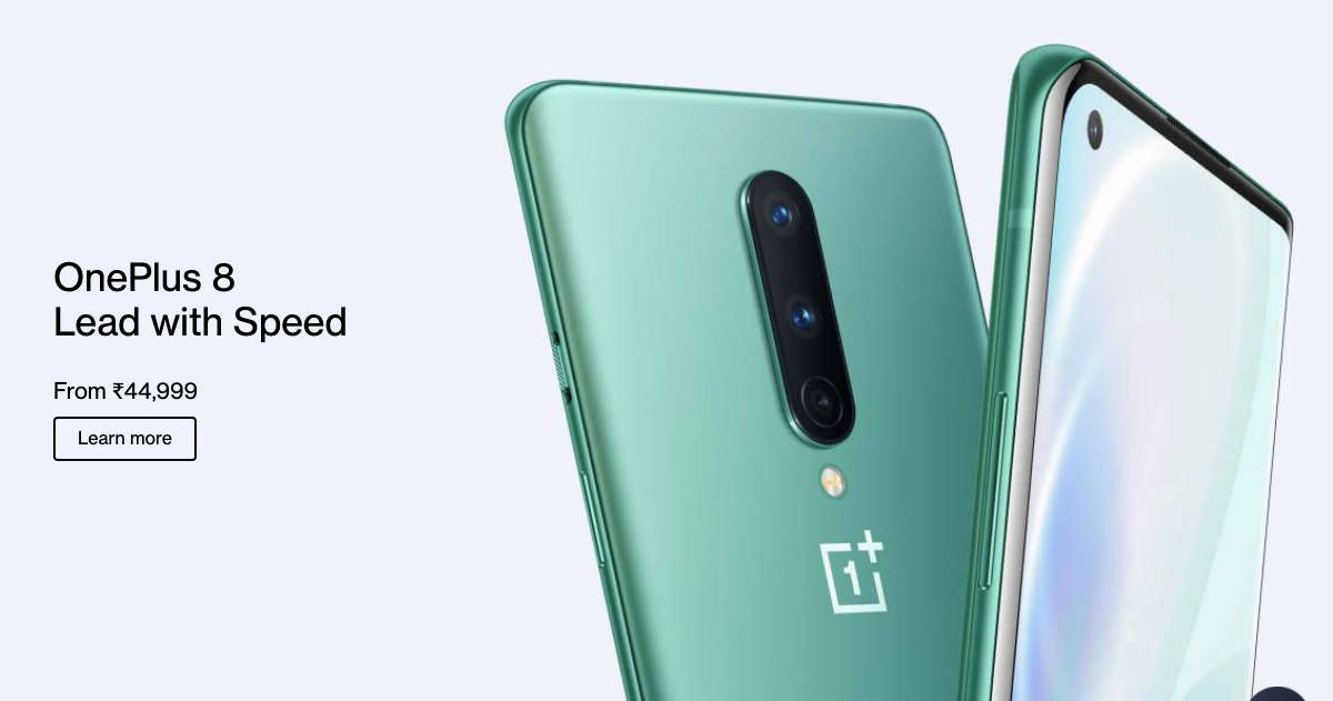 OnePlus 8 series is cheaper in India than in the US. Here are 3 reasons for the price difference
