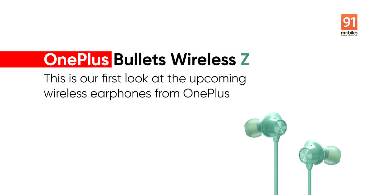OnePlus Bullets Wireless Z revealed in renders, earphones to launch with affordable price tag