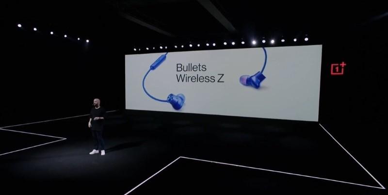 OnePlus unveils Bullets Wireless Z headphones, 30W wireless charger