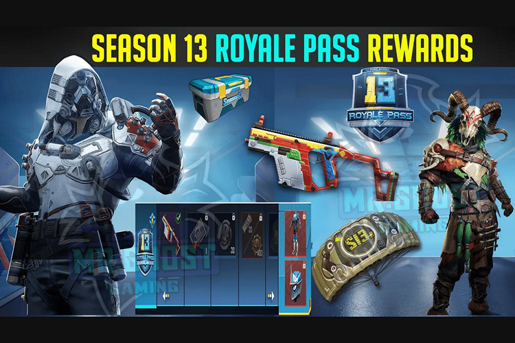 PUBG Mobile Season 13 Royale Pass Rewards Leaked Ahead of Release