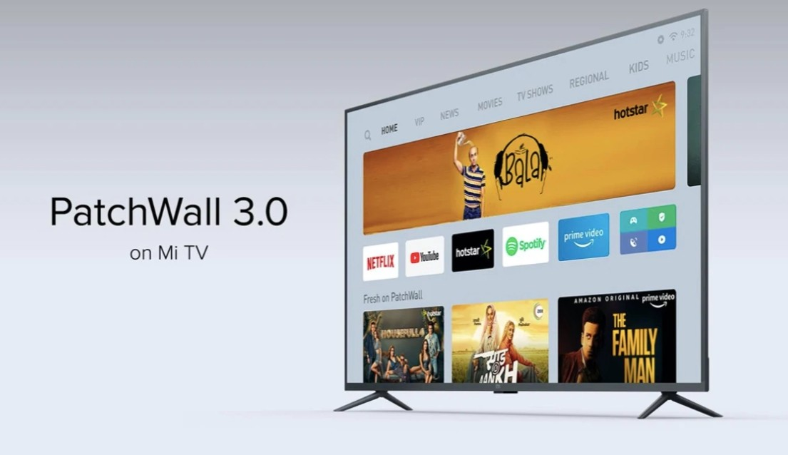 PatchWall 3.0 for Mi TVs to bring new content partners, better UI | UPD: rolling out