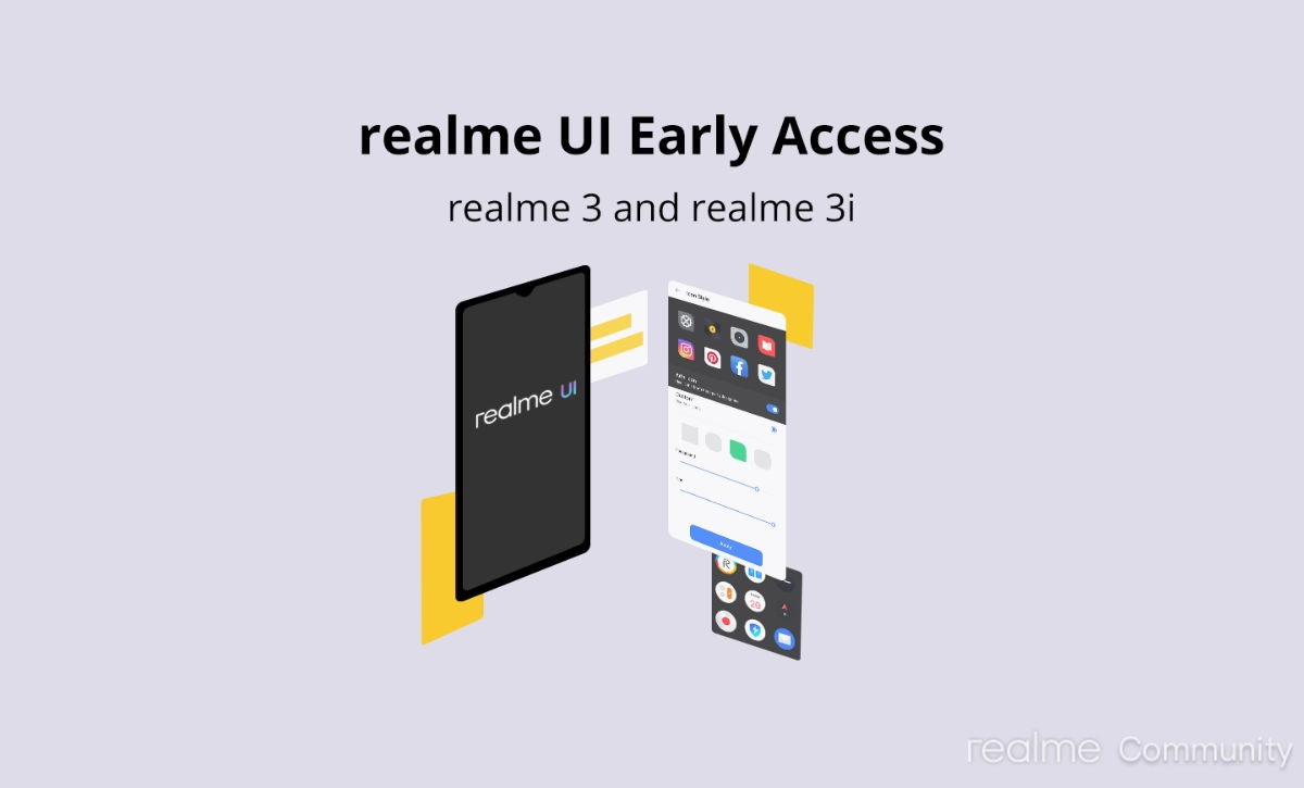Realme UI Early Access Android 10 available for Realme 3, Realme 3i