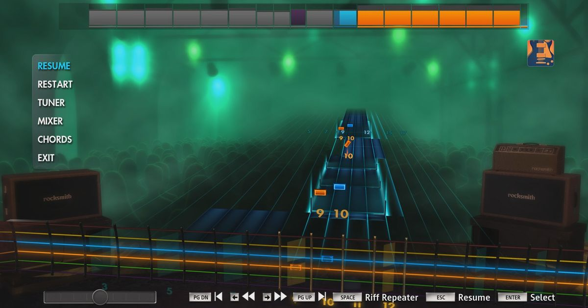 Rocksmith's DLC ends after 383 weeks