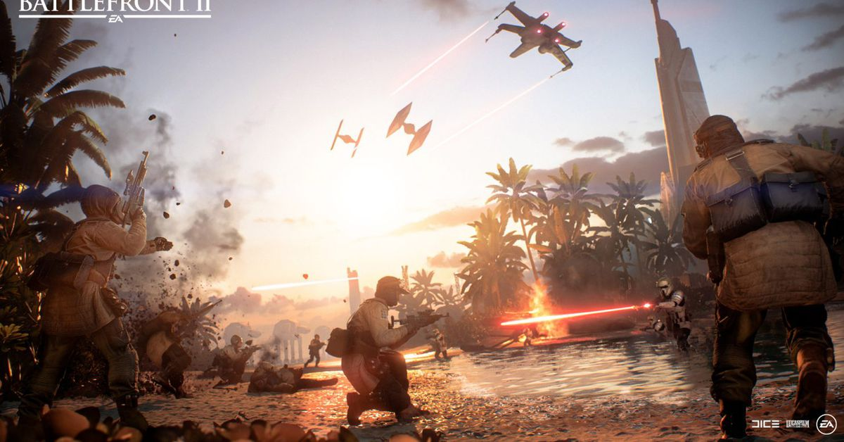 Rogue One's Scarif will be the final Star Wars: Battlefront 2 update