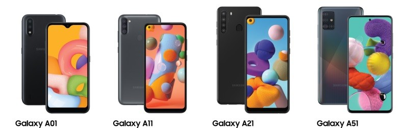 Samsung brings Galaxy A01, A11, A21, A51 5G, A71 5G to the U.S.