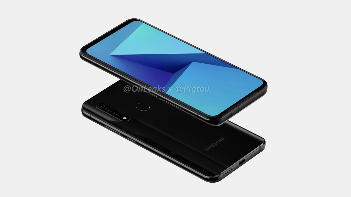 Samsung preps Galaxy A phone with pop-up camera; Could be Galaxy A21s