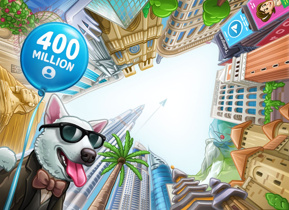 Telegram reaches 400M monthly users; Promises to bring video calling feature soon