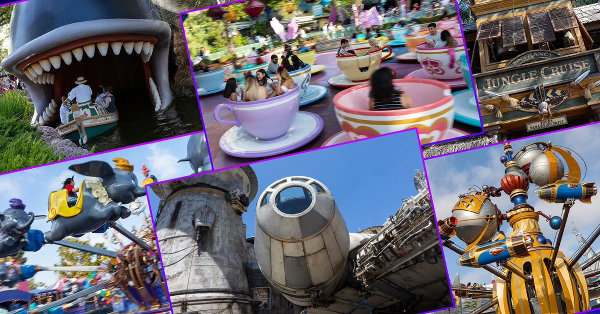 The Disneyland virtual visit: Watch every ride & attraction video in one place