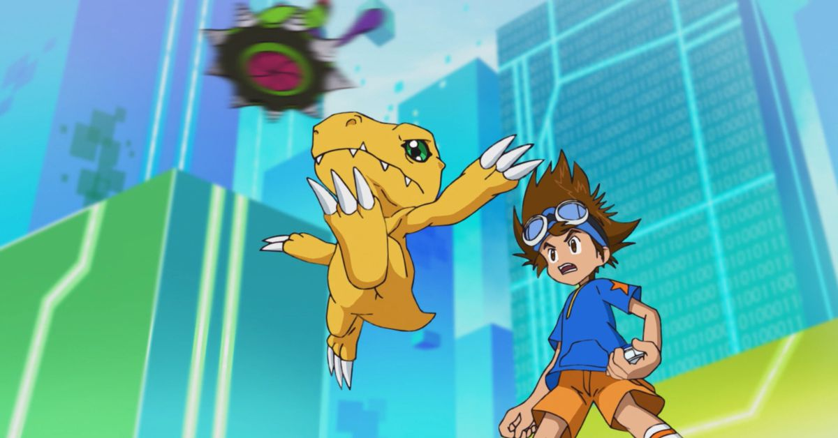 The new Digimon Adventure 2020 anime is moving alarmingly fast