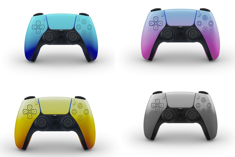 These Colourful Mock-Ups of the PS5 Controller Look Super Cool