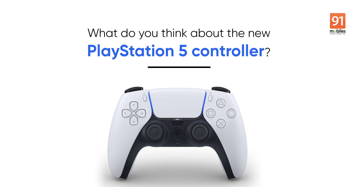 This is Sony's new DualSense controller for the PlayStation 5