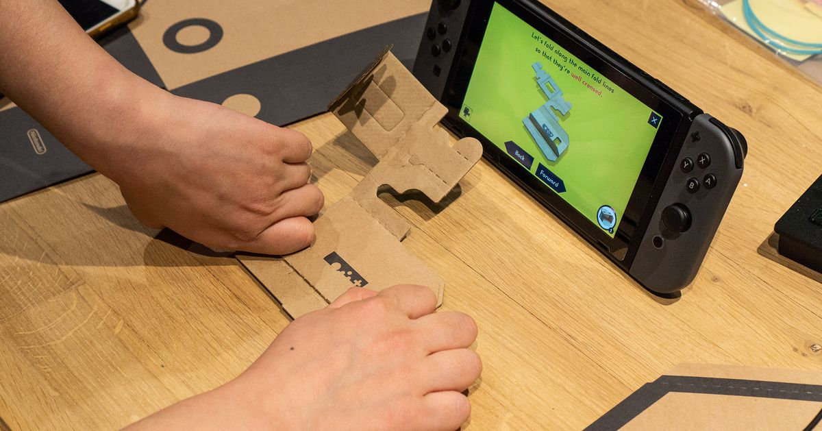 Two Nintendo Labo kits are available at a steep discount