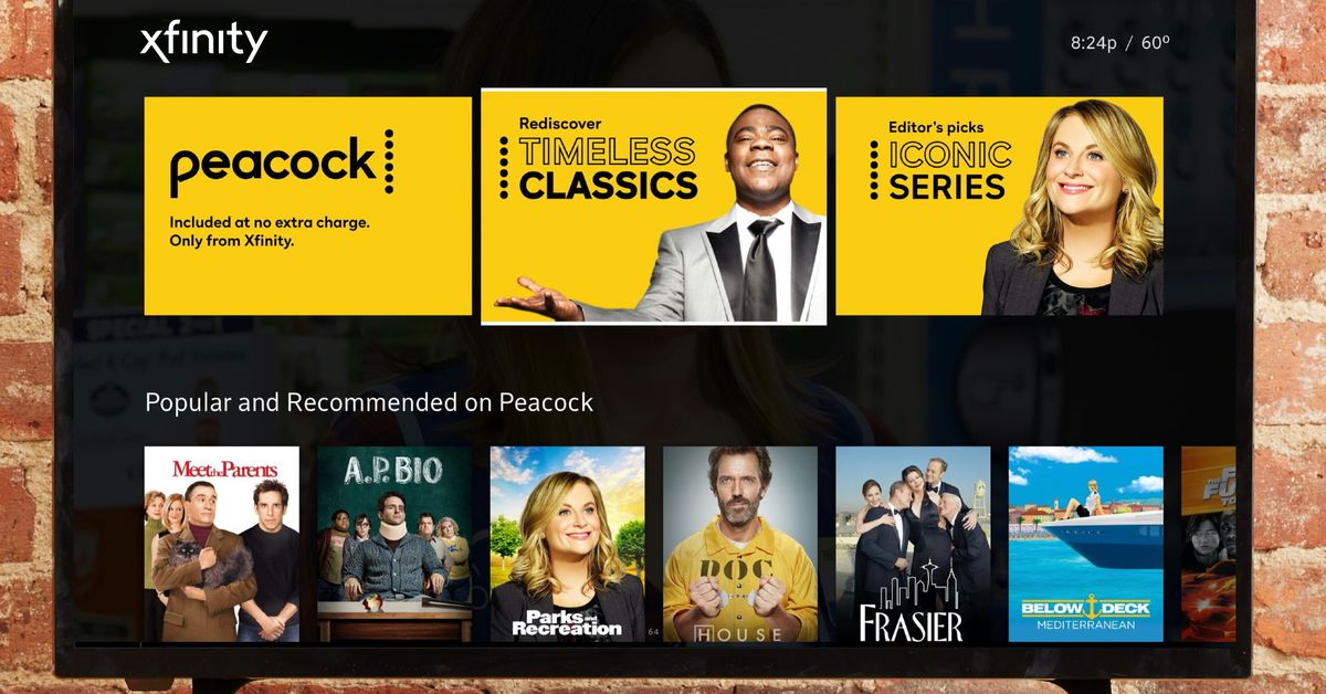 What is NBC's Peacock? A streaming service for hard times, in theory.