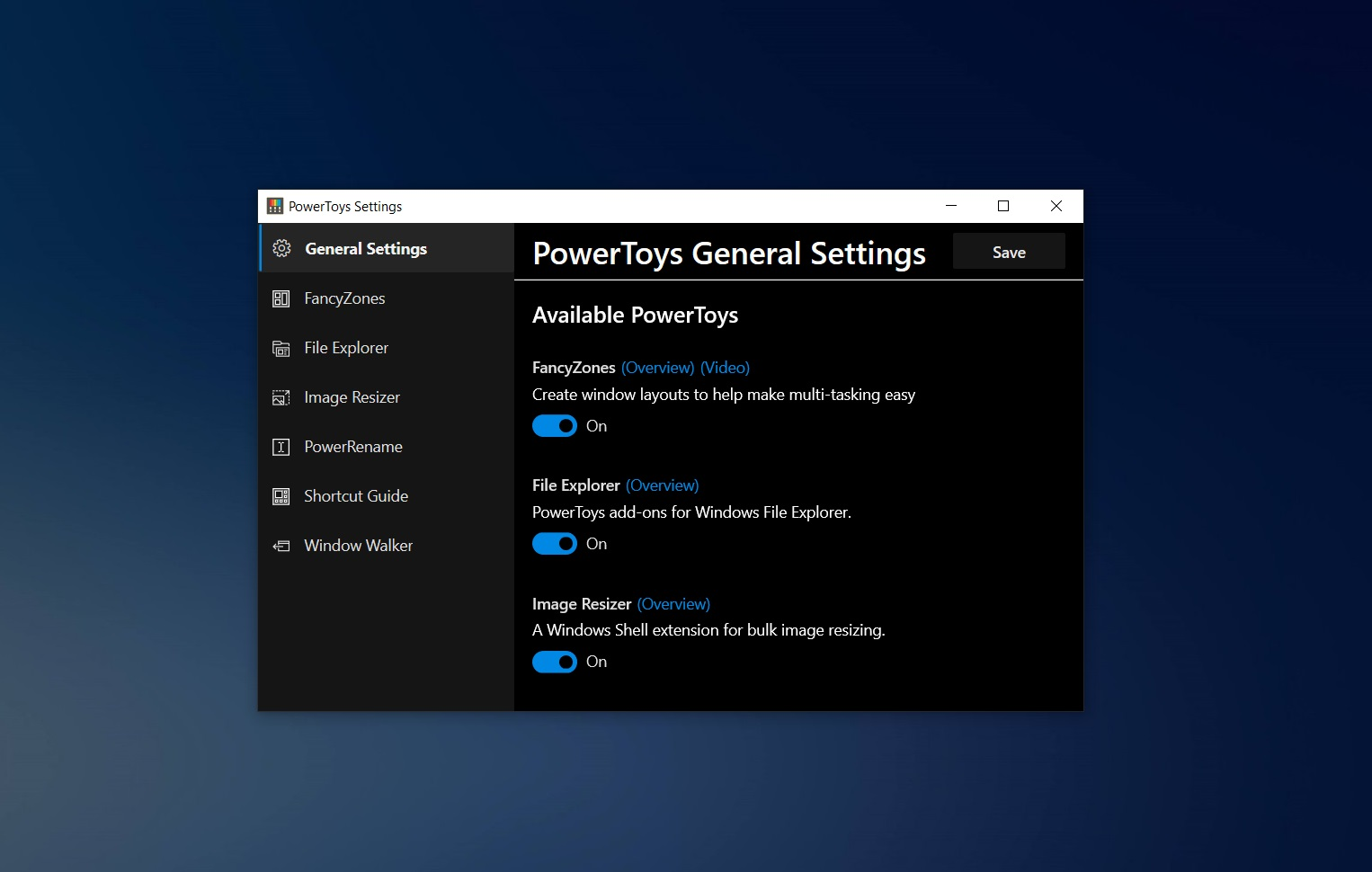 Windows 10 PowerToys gets built-in image resizer