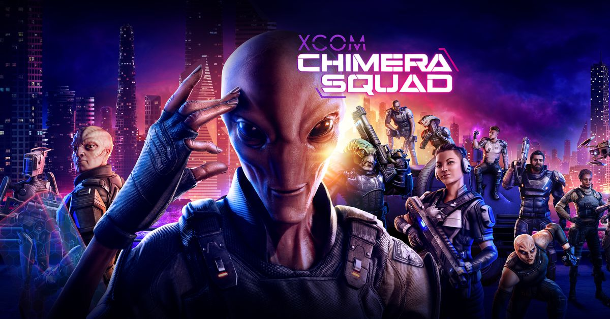 XCOM: Chimera Squad is a new, turn-based game due out in April, here's the first trailer