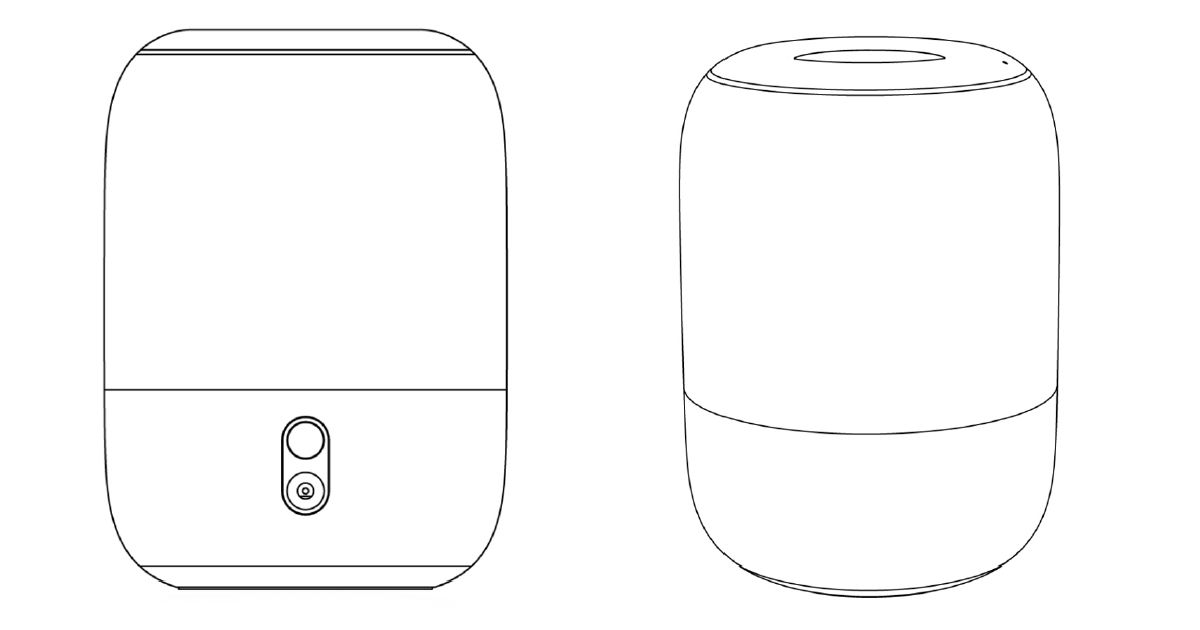 Xiaomi smart speaker patent reveals Apple HomePod-like design
