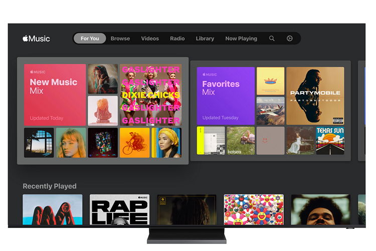 You Can Now Stream Apple Music on Samsung Smart TVs