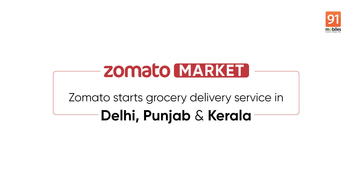 Zomato Market grocery delivery service launched in India amid coronavirus lockdown
