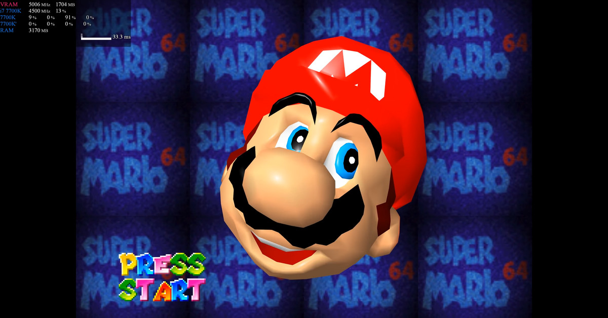 A modder built Mario 64 in DX12, and fans are being super protective