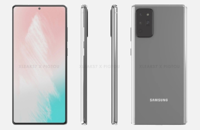 Alleged Galaxy Note 20 renders show camera module similar to Galaxy S20