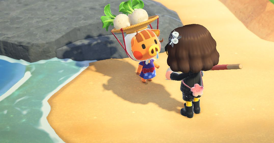 Almost 100 Animal Crossing: New Horizons players visited my island to sell turnips