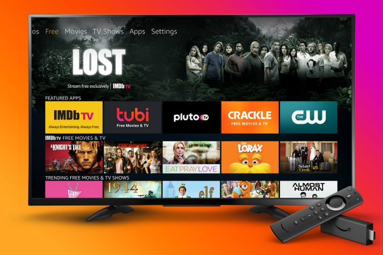 Amazon Fire TV Gets a New 'Free' Tab