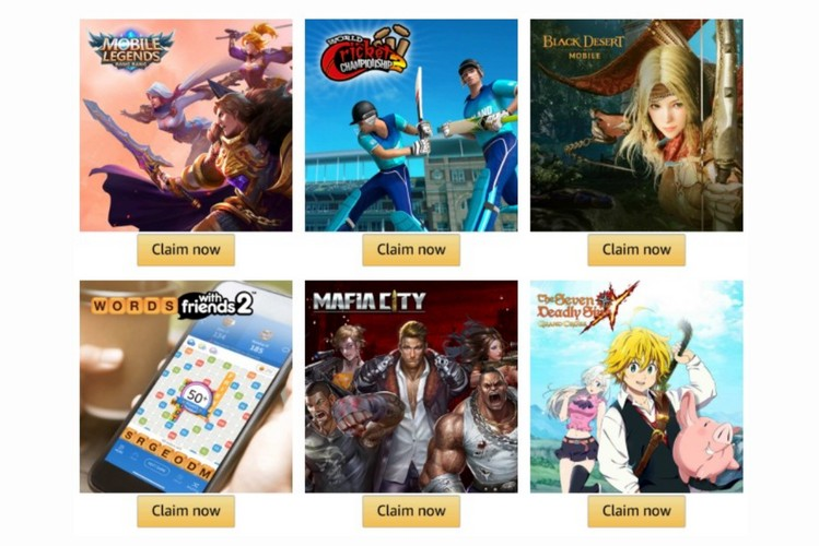 Amazon Offering Free In-Game Perks via Prime Gaming