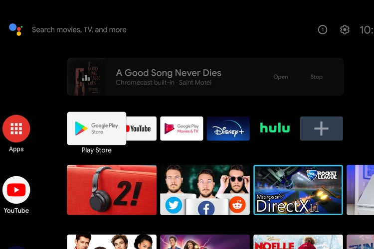 Android TV Now Supports Background Audio Streaming