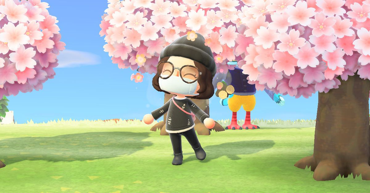 Animal Crossing: New Horizons cherry blossom farmers are making bank