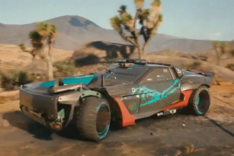 CD Projekt Made a Mad Max-Themed Car for Cyberpunk 2077