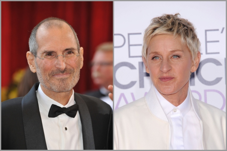 Ellen DeGeneres Once Called Steve Jobs to Complain About Her iPhone
