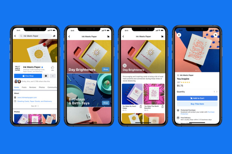 Facebook Shops Announced to Help Turn Your Business Profile into a Storefront
