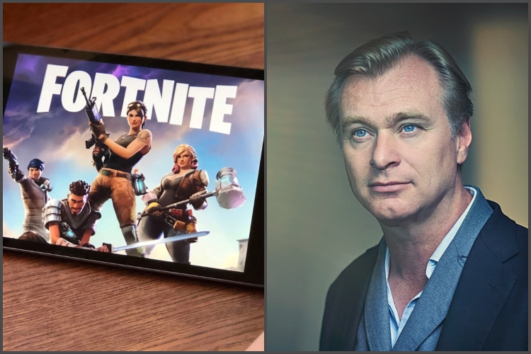 Fortnite to Screen a Christopher Nolan Movie for Free This Summer