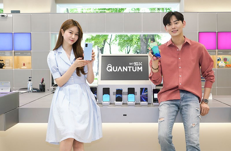 Galaxy A Quantum 5G with quantum security chip aims to protect your sensitive data
