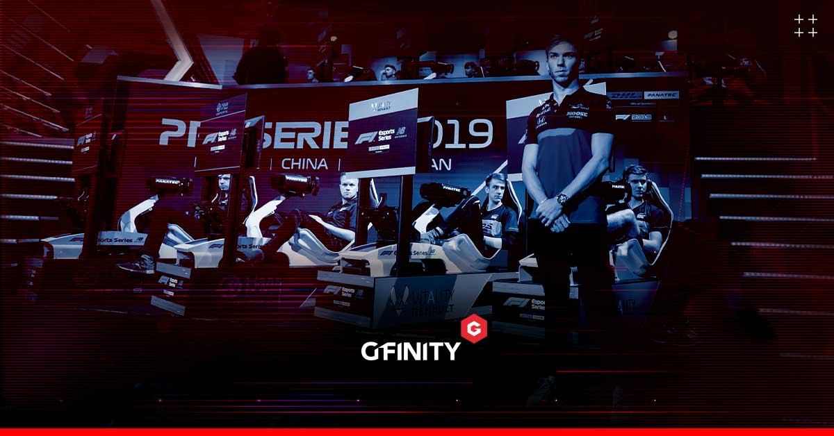 Gfinity signs multi-year deal to deliver F1 Esports Series
