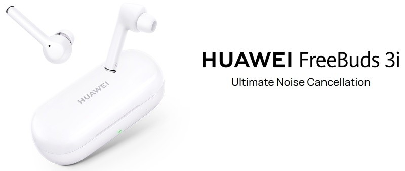 Huawei FreeBuds 3i TWS earbuds with active noise cancellation launched