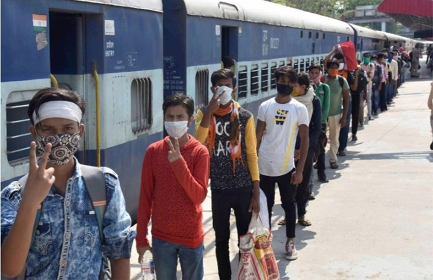 IRCTC Railways Shramik Special Trains List, Route, Schedule, Time Table for Migrants Workers - Bhram in MHA department on 'Shramik Special' trains? First said - point-to-point trains will run on the request of the state, then said - Indian Railways will decide