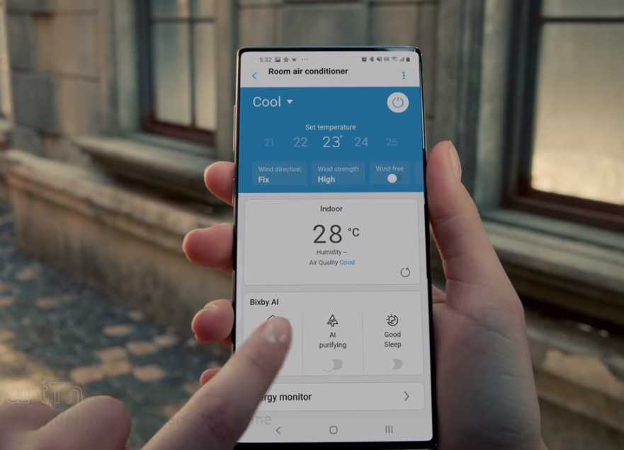 Is this the Galaxy Note 20 with an under-display camera?