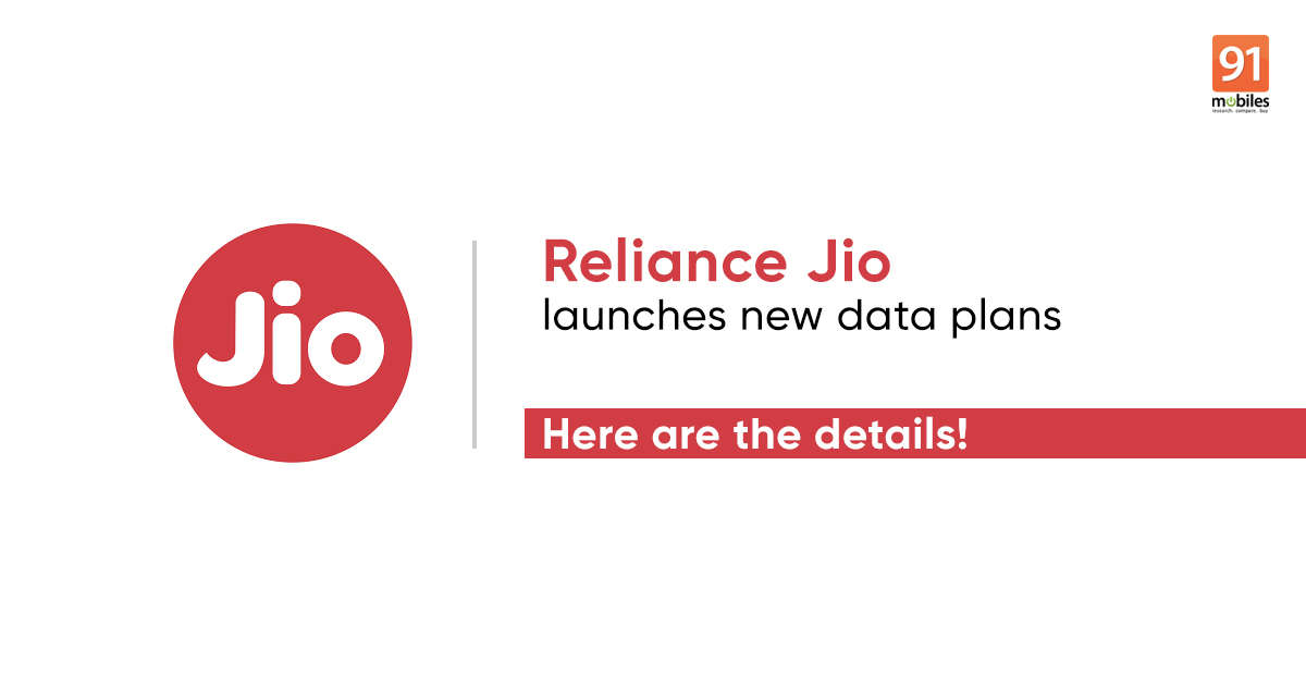 Jio Rs 2,399 Work From Home recharge, new Rs 151, Rs 201, Rs 251 add-on data packs launched