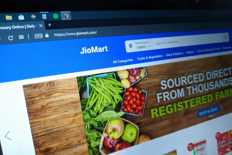 JioMart Officially Launched in Over 200 Towns Across India
