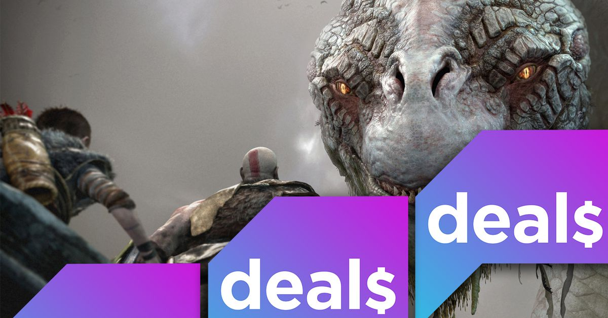Memorial Day deals on 4K TVs, PC accessories, and plenty of video games