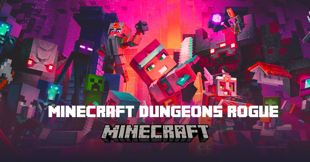 Minecraft Dungeons: How to build a Rogue class - Weapons, Artifacts, Armors & more