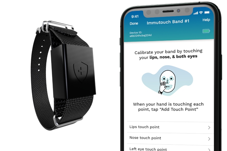 New Smart Band Aims to Stop You from Touching Your Face
