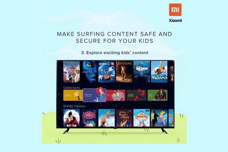 PatchWall UI on Mi TVs Add Dedicated Kids Mode for Age-Relevant Content