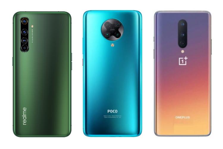 Poco F2 Pro vs OnePlus 8 vs Realme X50 Pro: Specs Comparison