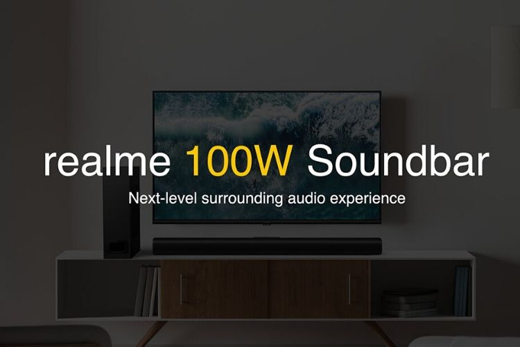 Realme 100W Soundbar Teased to Launch in India Soon