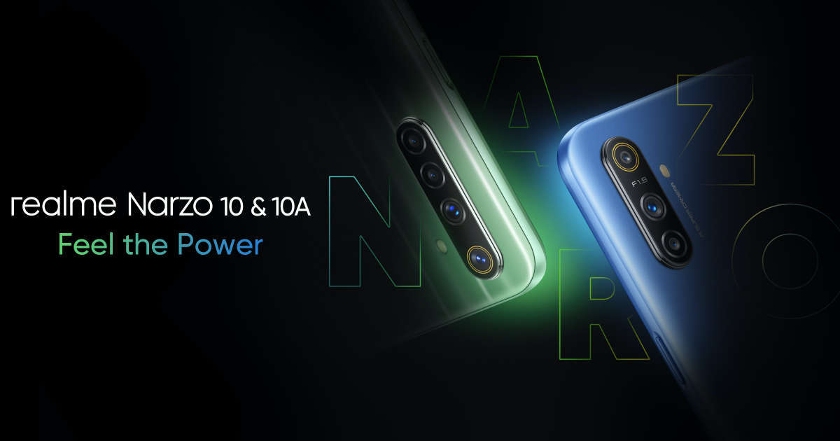 Realme Narzo 10 with MediaTek Helio G80 processor confirmed ahead of May 11th launch
