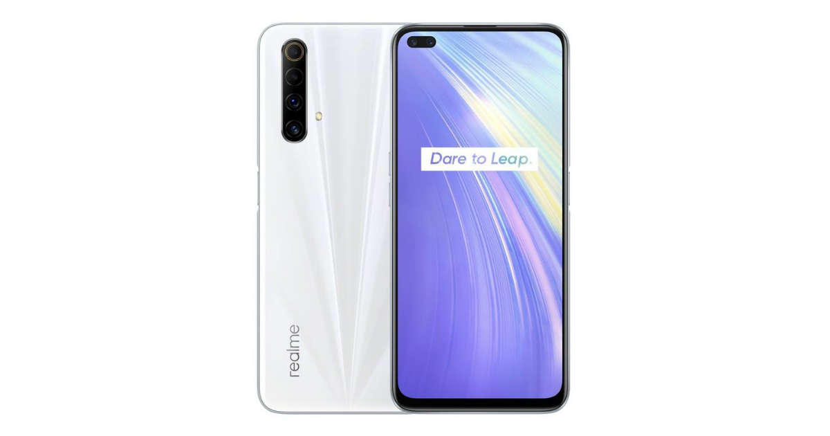 Realme X50m India website support page listing