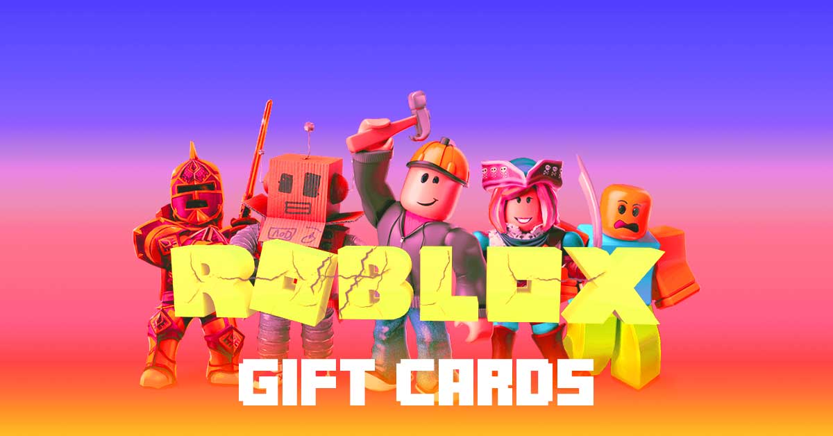 Roblox Gift Card Redeem Gift Cards Roblox Gift Cards Bonus Virtual Items And Extra Enter21st Com