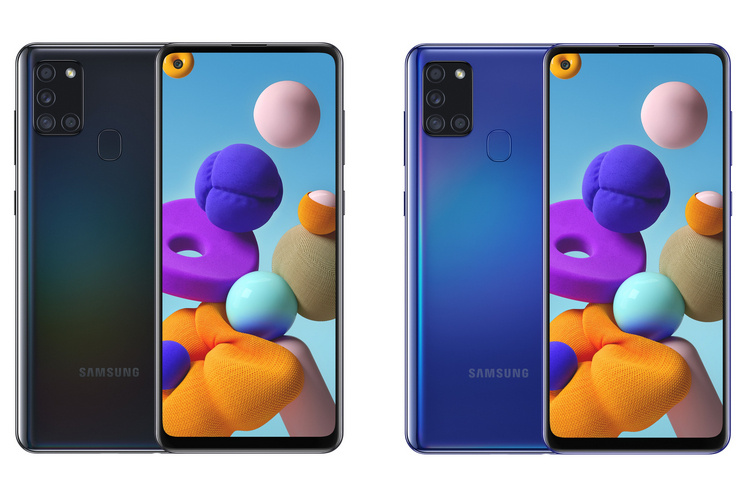Samsung Galaxy A21s Launched With 5,000mAh Battery, Quad-Cameras & 5G Support